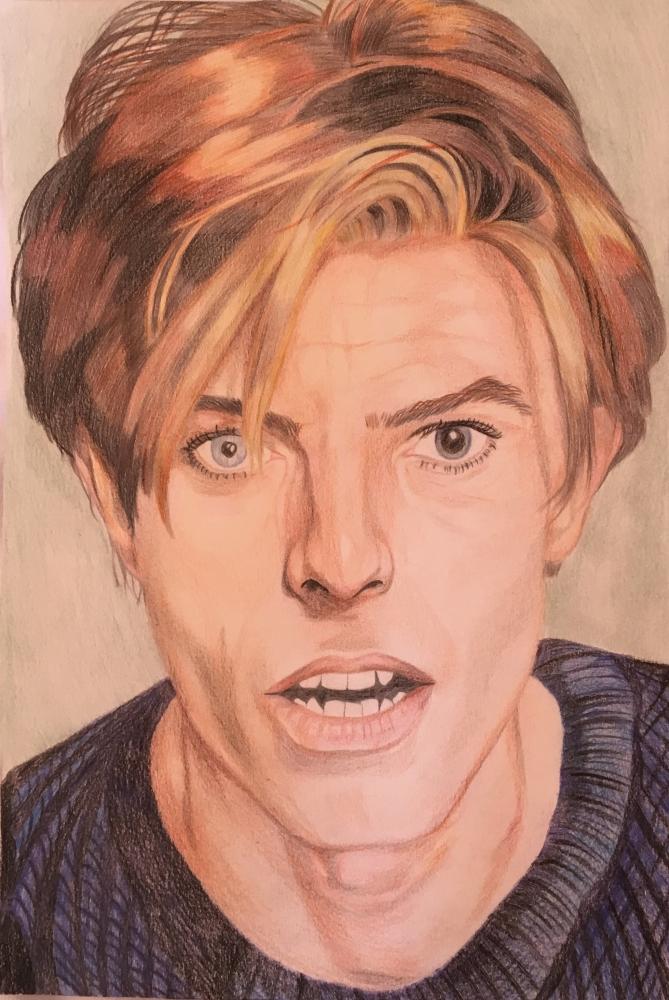 David Bowie by -Jeanne